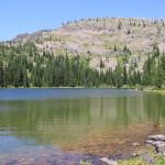 A wilderness lake